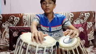 Aaj Dil Shayarana - Tabla Cover By Ayaansh Rajotia....