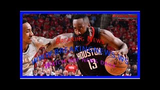 James Harden of Houston Rockets has poor shooting night, comes up big on defense in Game 2 win ov...