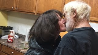 ANGRY GRANDPA'S FIRST KISS!