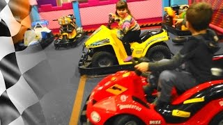 Cars for kids | Kids and cars on the track