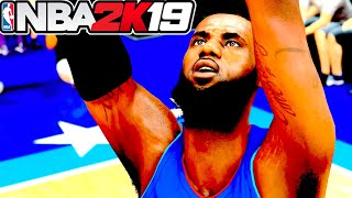 NBA 2K19 My Career Episode 2 - Lebron James and Steph Curry PLAY ALL STAR GAME IN CHINA!
