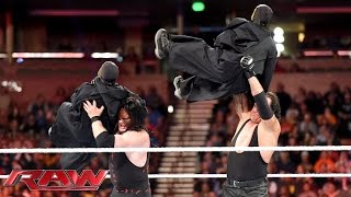 "The Brothers of Destruction battle Bray Wyatt's ""flock"": Raw, November 16, 2015"