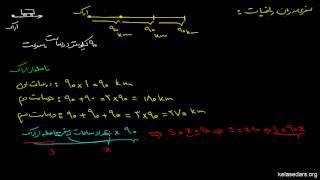 معادلات ریاضی ۰۱ مقدمه بر متغیر،رابطه و معادله ریاضی