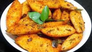 Fried Masala Idli Recipe-Masala Idli-How to make Idli Fry-Easy and Quick Tea Time Snack
