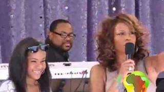 Africanlimelight.com  Whitney Houston featuring Bobbi Kristina in Central Park