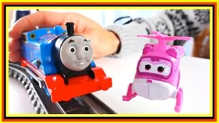 BREAKING! - Thomas the Train.Super Wings Toys.Videos for Kids.Toy Cars for Children.Toy Car Videos