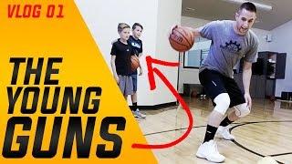The Young Guns | Shot Mechanics Basketball Training Vlog 01