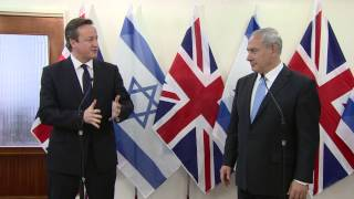 Remarks by PM Netanyahu and British PM David Cameron