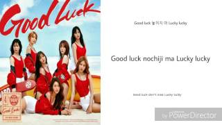 AOA - Good luck color coded lyrics (rom/han/eng)