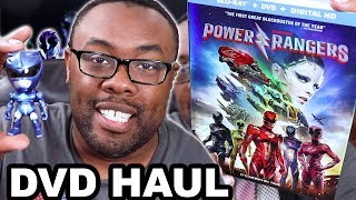 POWER RANGERS MOVIE DVD HAUL and BLU-RAY EXCLUSIVES [Black Nerd]