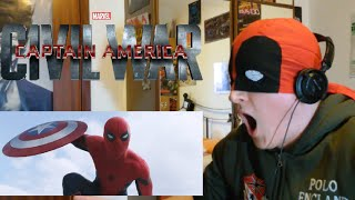 trailer reaction - captain america: civil war 2 (ITA)