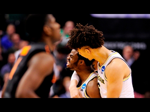 First Round Michigan defeats Oklahoma State