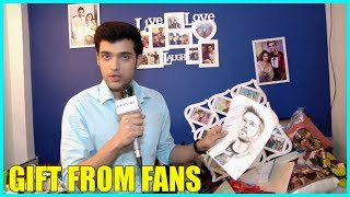 Parth Samthaan Unwraps Gift From Fans