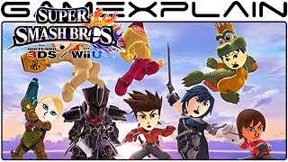 Mii Fighter Costumes Tour! - Super Smash Bros for Wii U