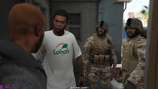 GTA V - Franklin & Trevor with MARPAT Outfits (Hood Safari walkthrough - 1440p Gameplay)