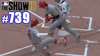 BATTER ACCIDENTALLY CUTS OFF MY HEAD! | MLB The Show 18 | Road to the Show #739