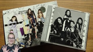 Unboxing F(x) 2nd Japanese Single Album 4 Walls / COWBOY [Both CD+DVD & Normal Edition]