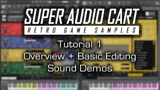 Super Audio Cart - Overview & Sound Demos (Tutorial Part 1)