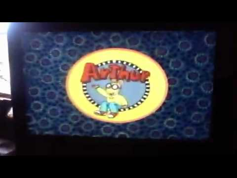 Closing To Arthur Goes To The Doctor 2000 VHS