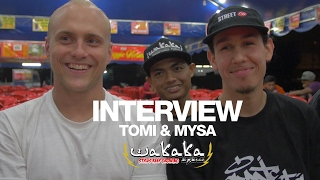 Interview - Bboy Tomi from Slovenia & Mysa from France