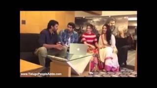 Question & Answers by Prabhas, Rana, Anushka & Tamannaah