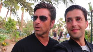JOHN STAMOS CRASHED MY HONEYMOON!!