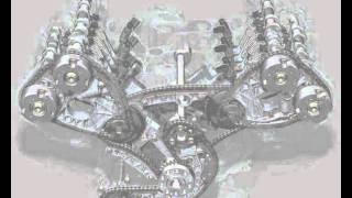 Motor V6 24v funcionamento em video animação