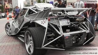CRAZY Custom Built Car - Brutus IOUS V8 Turbo W/ Porsche Transmission