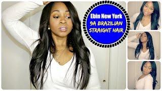 Ebin New York- 9A Brazilian Slayed Sleek Straight  Hair  - Best Beauty Supply Store Weave EVER!