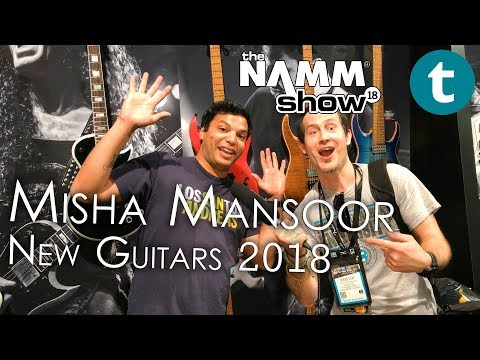 Xxx Mp4 NAMM 2018 NEW Misha Mansoor Jackson Signature Guitars 3gp Sex