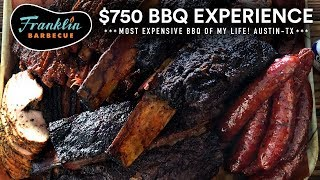 Most EXPENSIVE BBQ of My LIFE! Franklin Barbecue & Salt Lick, Austin TX