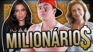 6 famosos que eram POBRES e ficaram MILIONÁRIOS | Diva Depressão