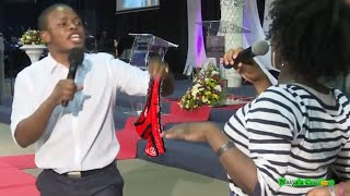 Prophet Bushiri Locates Lady's Lost Pant Through Prophesy In Church