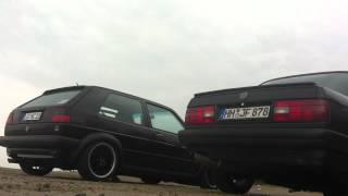 Sound VW Golf 2 VR6 und BMW E30 325i(s)