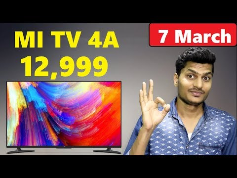 Xiaomi MI TV 4A Price Just 12,999 Rupee | Cheapest Smart TV in India (Leaks) Tech Updates #5