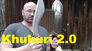 "Khukuri Reinvented: The ""Knout"". Huge. Massive. Adorable. WIN IT!"