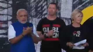 PM Narendra modi Rocked in America with Wolverine [Hugh Jackman]