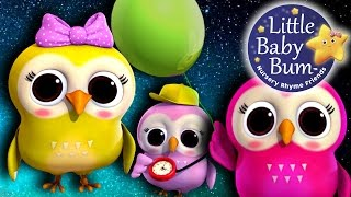 A Wise Old Owl | Nursery Rhymes | By LittleBabyBum!