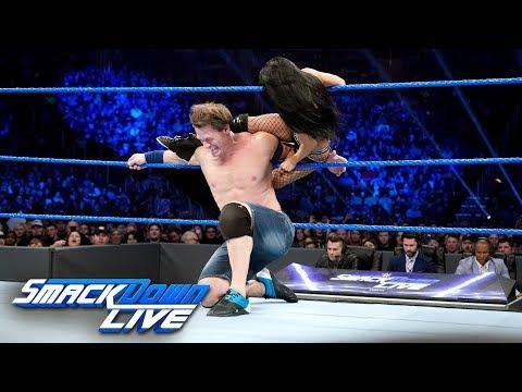 Xxx Mp4 John Cena Becky Lynch Vs Andrade Cien Almas Zelina Vega SmackDown LIVE Jan 1 2019 3gp Sex