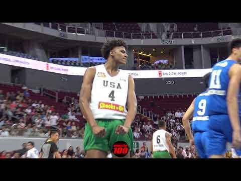 Xxx Mp4 Jalen Green POSTERIZES 7 Footer Kai Sotto AGAIN Filam Sports USA Defeats Ateneo 90 67 3gp Sex