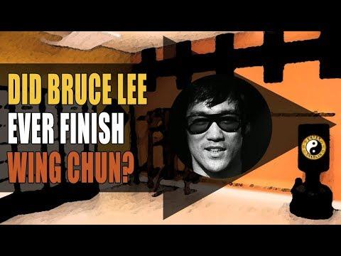 Did Bruce Lee Finish His Wing Chun Training ? | Martial Arts | Kung Fu | JKD