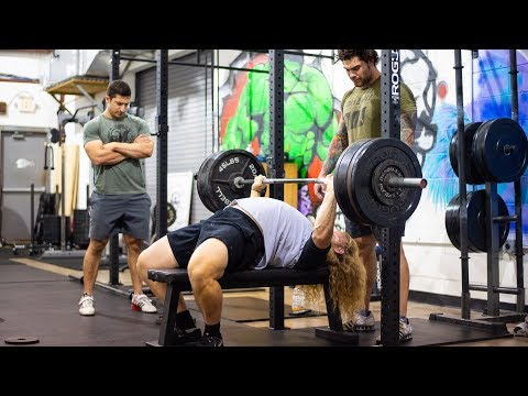 Xxx Mp4 RAW Training At The Strongest Gym In The East BENCH PRs W Joey Szatmary 3gp Sex