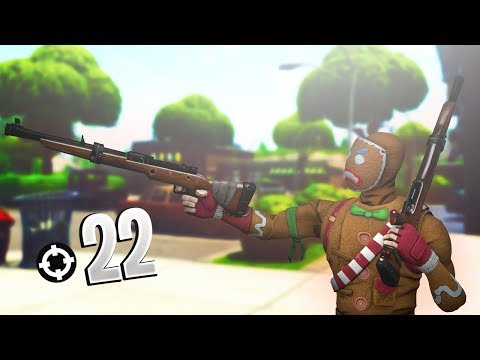 Xxx Mp4 22 Kill Using Hunting Rifle Only Fortnite Battle Royale 3gp Sex