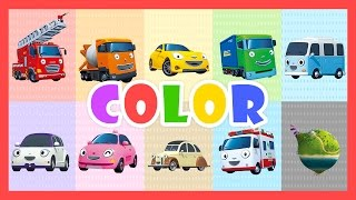 Color Song (60mins) l Learn colors with Tayo the Little Bus l Nursery Rhymes l Tayo the Little Bus