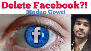Delete Facebook | Tamil | Madan Gowri | MG