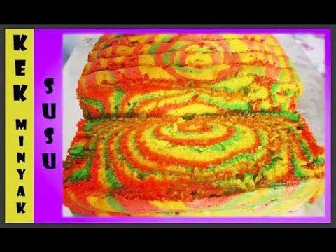 Kek Minyak Susu (MESTI CUBA!!)