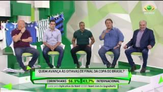 Timão x Inter: Comentaristas ficam divididos nos palpites