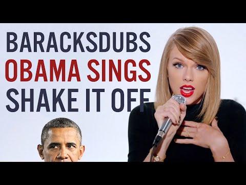 Barack Obama Singing Shake It Off by Taylor Swift