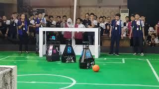 Soccer Robot Middle Size Indonesia Open 2018/KRSBI Regional 3 - UNISSULA (2) vs (4) UKSW