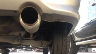 2004 Honda Civic LX DC Sport Exhaust 4.25 inches
